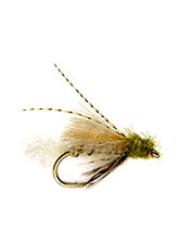 These CDC Emergers are versatile for fly fishing everywhere there are caddis flies.