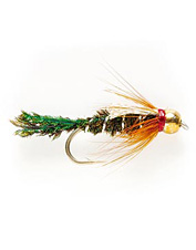 Add these flies to your collection of nymphs for fly fishing trout or carp.