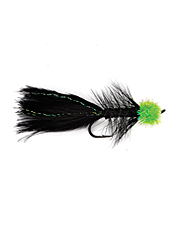 An effective imitation of a leech and egg, perfect for salmon and steelhead fly fishing.