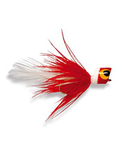 Attract big strikes from hungry Bluegill with this little popper fly.