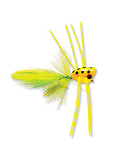 The patterns of these bass flies are simply irresistible.
