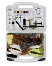 Orvis Fly-Tying Kit with Manual