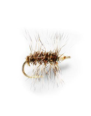 This dry fly imitates a midge or a cluster of midges.