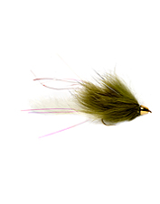 Marabou brings this streamer fly to life and the conehead gets it in the strike zone.