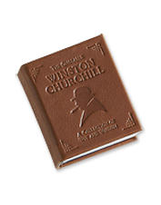 He'll love the timeless wit contained within this Winston Churchill inspirational quotes book.
