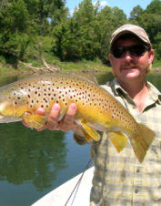 Orvis-Endorsed Fly-Fishing Guide in Reliance, Tennessee