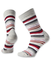 Smartwool pairs vibrant stripes and wool-blend comfort in these festive Margarita Crew Socks.