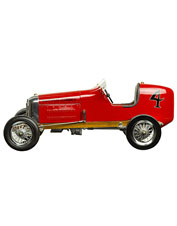 The Red Bantam Midget will hold a special place in the heart of any race car model enthusiast.