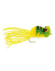 Bring on the big strikes with this fly fishing frog pattern.
