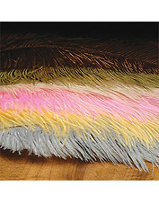 Fly tying with our quality ostrich feathers creates realistic patterns. Made in USA.