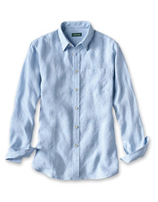 This long-sleeved version of our Pure Linen Shirt offers comfort and style in warm weather.