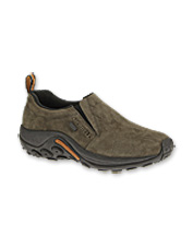 These Waterproof Jungle Mocs by Merrell deliver cushioned comfort and rugged stability.