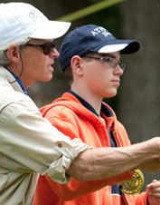 Enjoy over 400 acres of lush landscape during this fly-fishing school in Millbrook, New York.