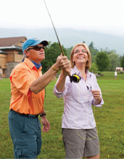 Fly-Fishing Instruction and Guided Fishing in Manchester, Vermont