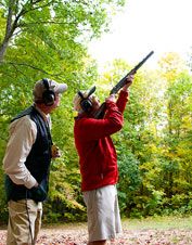 Orvis shotgun shooting and upland hunting schools introduce the core fundamentals.