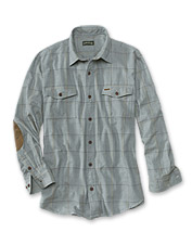 Our herringbone long-sleeved shirt adds comfort and style to your wardrobe.