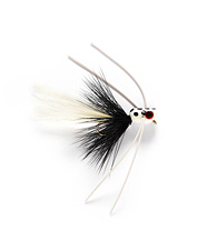 Mini Pop is tops among surface bass fly patterns because it floats high and makes a commotion.
