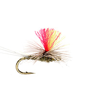 Track the drift easily with this parachute dry fly