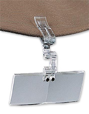 Easily access this clip on magnifier when tying on the smallest flies. Made in USA.