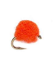 Increase your catch rate with this micro egg trout fly.