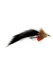 The popular muddler fly is a favorite fly pattern for big hungry trout.