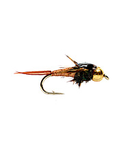 You're guaranteed to catch a lot of fish with one of these bead head nymphs.