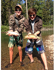 Orvis-Endorsed Kid's Fly Fishing Camp in Ovando, Montana