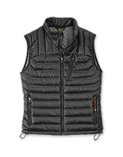 Our men's Primaloft down vest offers comfort fit for any outdoorsman.