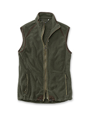 The fleece Langdale Gilet by Barbour blocks cool weather in handsome style.