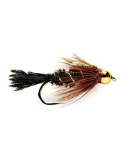 Keep this fly in your assortment of peacock caddis for still water fishing.