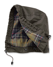 These waterproof rain hoods are specially designed for Barbour jackets.
