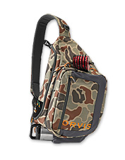 Pack it to the brim—the Orvis Safe Passage Guide Sling Pack keeps your gear within reach.