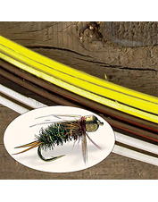 Tying quill-segmented fly bodies tricks picky fish. Made in USA.