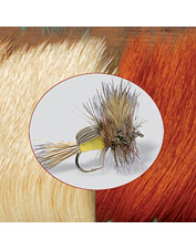 Elk hair is an essential fly-tying material for many caddis and mayfly patterns. Made in USA.