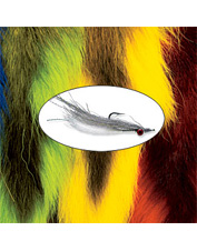 Tie accurate baitfish imitations with natural bucktail fly-tying materials. Made in USA.