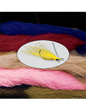 Calf tail hair is an essential ingredient for tying finer Wullf-style dry flies. Made in USA.