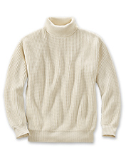 Our Cotton Submariner's Sweater delivers warmth without bulk.
