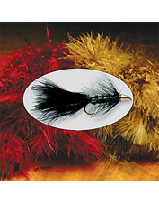 Marabou fly tying material is essential for tying lifelike fly patterns.