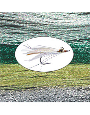 Flashy material ideal for tying any Clouser or baitfish fly. Made in USA.