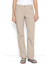 Our women's fishing pants are stretchable and quick-drying.