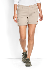 Our comfortable Women's Jackson Shorts boast stretchy, quick-drying performance fabric.