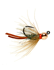 The perfect CDC prince jig fly for nymphing pocket water and riffles.