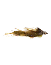 This streamer fly is the perfect wounded baitfish imitation.