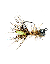 Trout can not refuse this caddis jig fly.