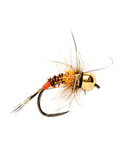 Catch big trout with this quick-dropping nymph fly pattern.