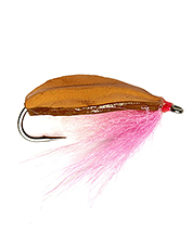 Spooky redfish don't stand a chance against this spoon fly.
