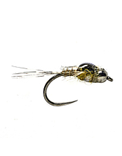 Put your fly in the wheelhouse with this double beaded mayfly nymph.