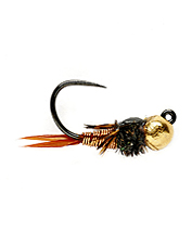 Even selective trout can't resist this copper john jig fly.
