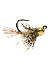 When trout are targeting emergers, a soft hackle hares ear fly is tough to beat.
