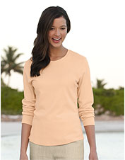 Long-Sleeved Pima Cotton Tee